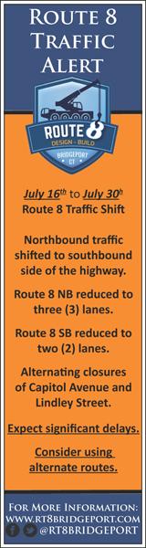 Route 8 Bridgeport CT