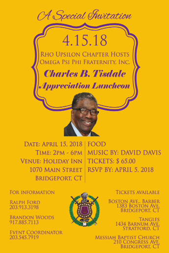 Tisdale Appreciation Luncheon