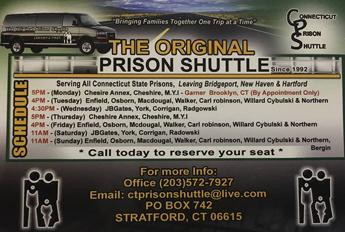 CT Prison Shuttle