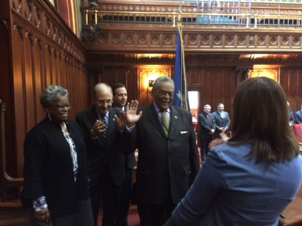 Gomes swearing in