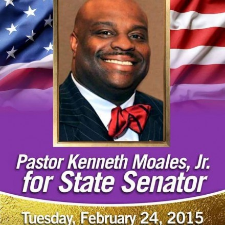 Moales for state senate