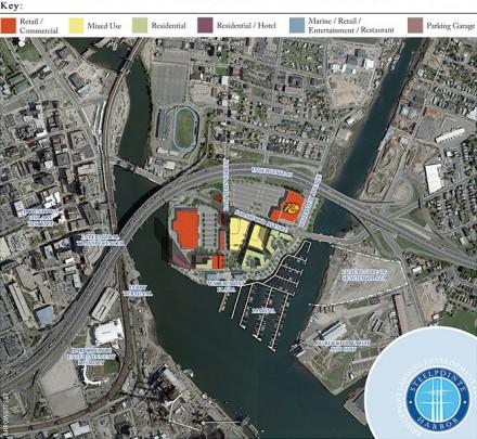 Steelpointe aerial site map