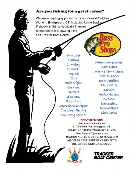 Bass Pro jobs fair