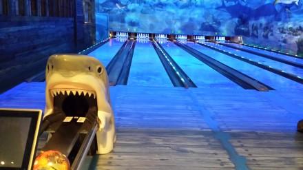 Bass Pro bowling