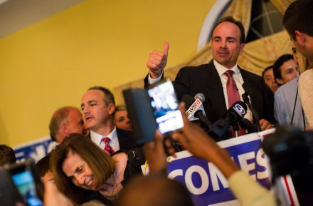 Joe Ganim is now officially mayor again.