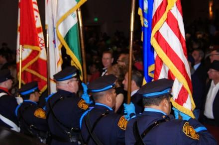 police at inauguration