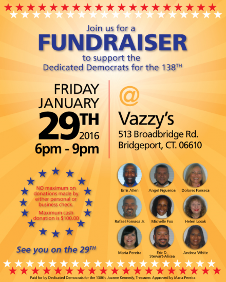 District 138th Fundraiser w/attribution
