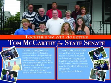 McCarthy first mailer