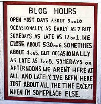 blog hours