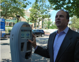 Ganim parking meters