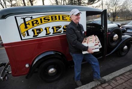 Frisbie pie truck
