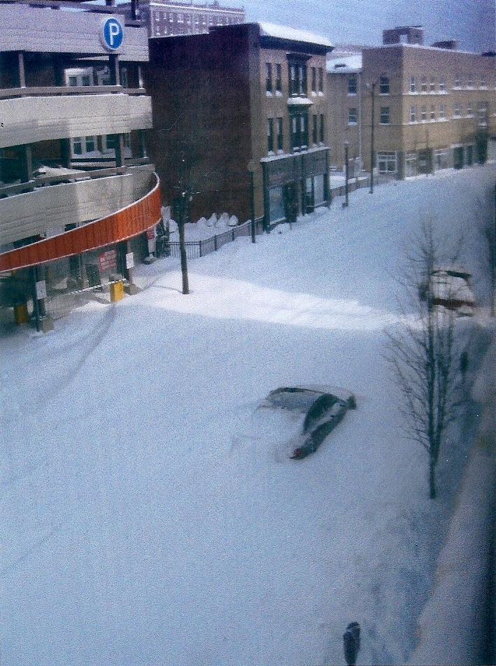 blizzard downtown