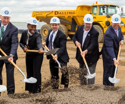 Ganim Steelpointe groundbreaking