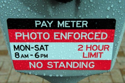 parking meter downtown