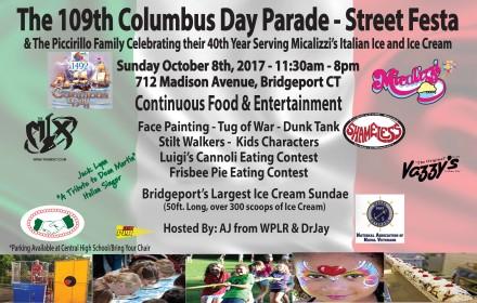 Columbus Day flier