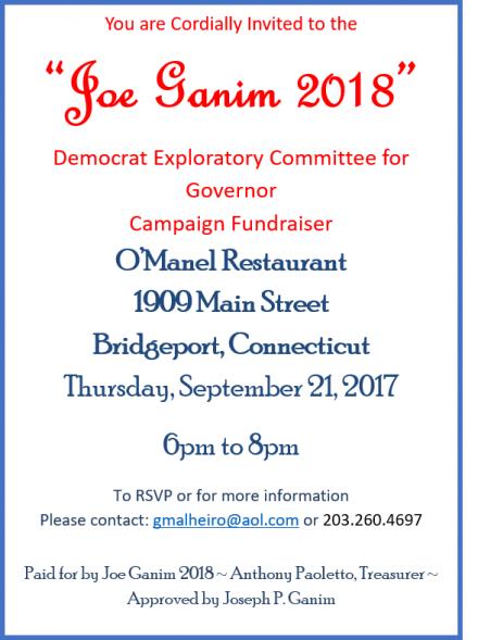 Ganim O'Manel fundraiser
