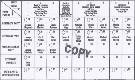 2017 ballot