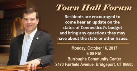 Stafstrom town hall forum