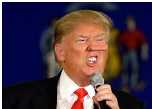 Trump Pinocchio