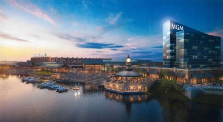 Rendering of MGM Bridgeport.