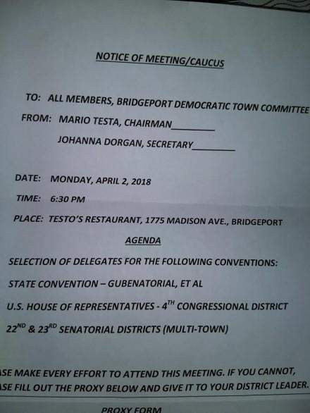 delegate agenda