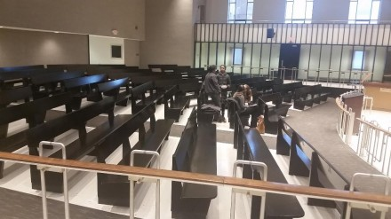empty council chambers 2018