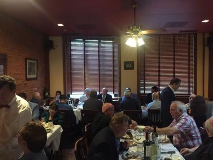 Big ticket fundraiser for Ganim at Joseph's Steakhouse Thursday night.