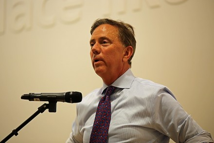 Ned Lamont Wednesday night promised to fully fund education and state reimbursement.