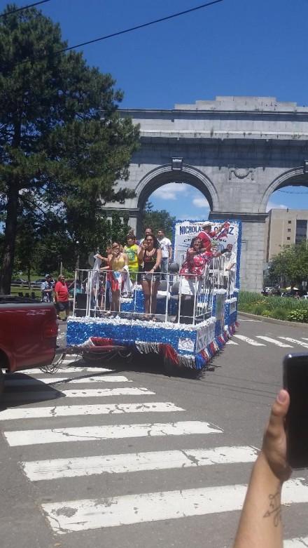 PR parade arch
