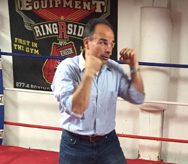 Ganim boxing