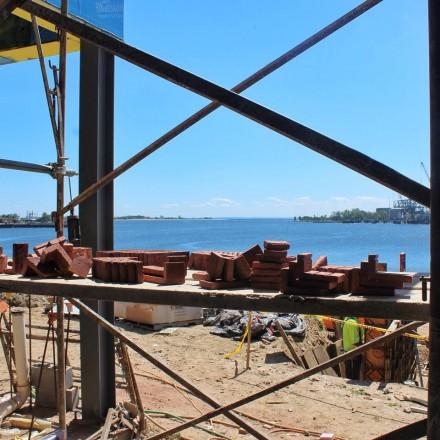 oyster bar construction