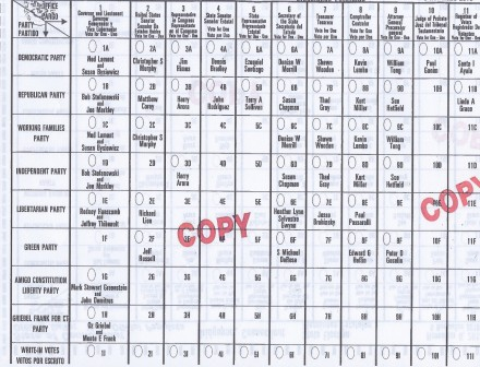 2018 sample ballot