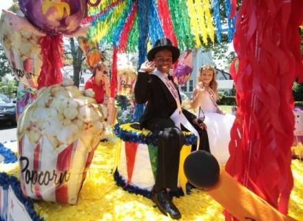 Barnum Festival parade 2014