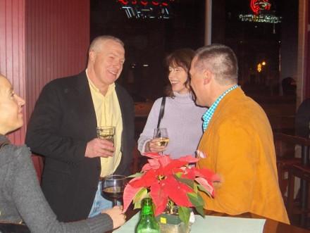 Marc and Barbara Delmonico, Michael Voytek