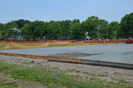 Ellsworth tennis courts