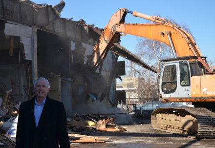 Finch, Knowlton Street demolition