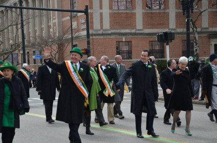 Malloy and Finch St. Pat's 2014
