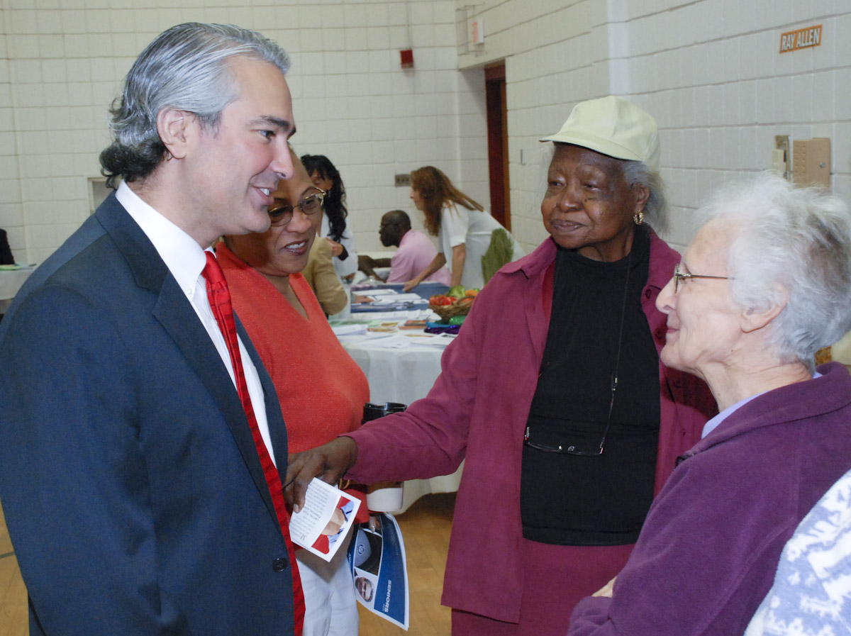 Anthony Musto at Bridgeport Senior Fair