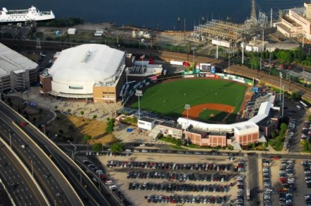 ballpark and arena