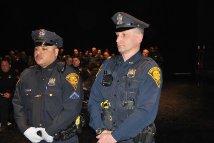 cops honored