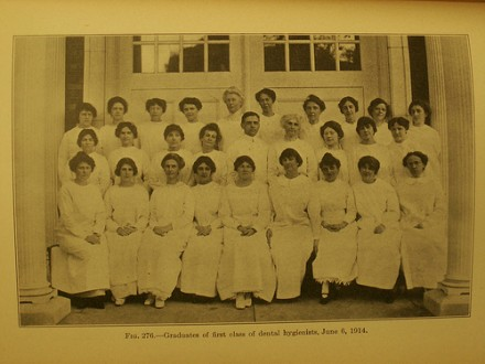 The first dental hygienists