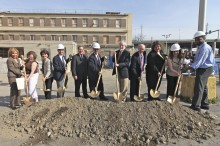South End Groundbreaking