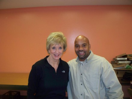 Linda McMahon and Joel Gonzalez