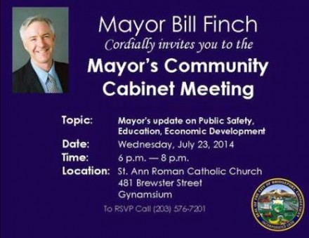Mayor's meeting in Black Rock