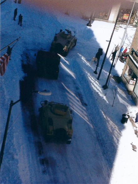 National Guard blizzard