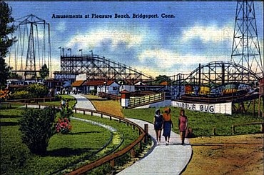 Pleasure Beach postcard