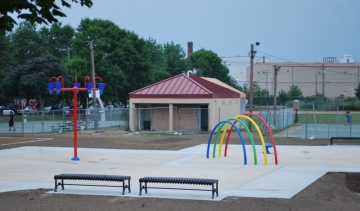 East End splash pad
