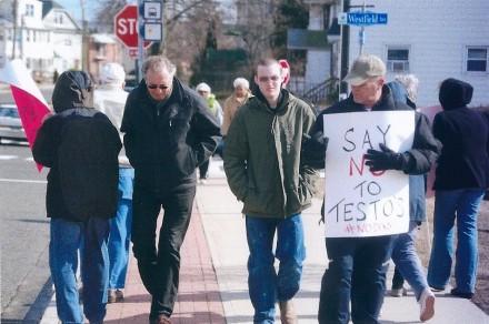 Testo protest