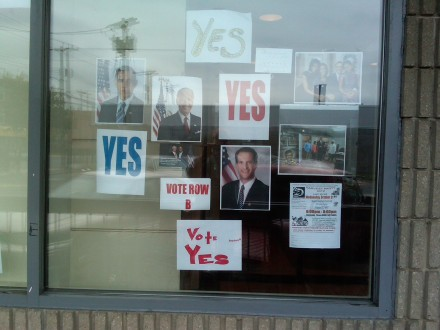 Vote Yes headquarters
