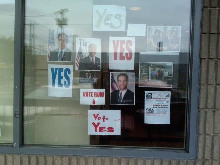 Vote Yes headquarters